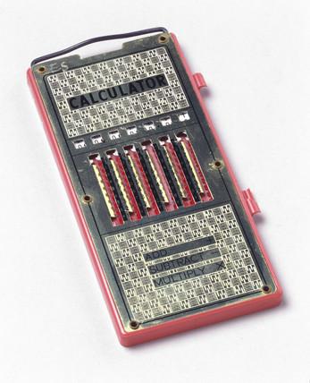 'Magic Brain' calculator, c 1960.