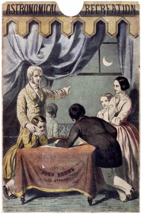 'Astronomical Recreation', c 1850.