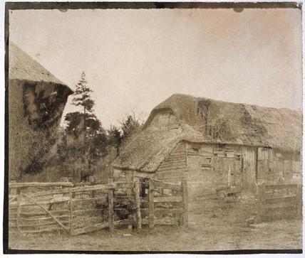 Farm yard, 1852.