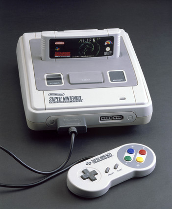 Super Nintendo Entertainment System, 1992.