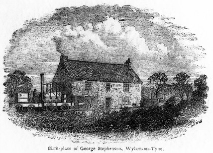 'Birthplace of George Stephenson, Wylam-on-Tyne', c 1881.