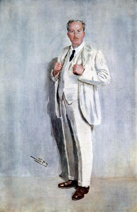'Claude Goodman Johnson', British businesman, 1919.