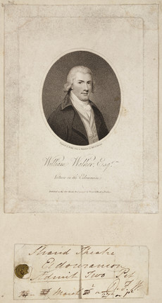 William Walker, British lecturer, late 18th century.
