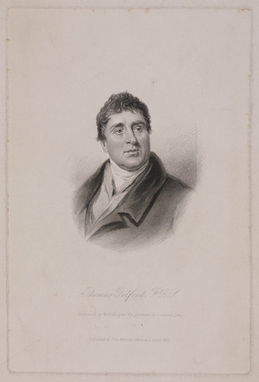 Thomas Telford FRS, Scottish civil engineer, c 1810.
