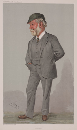John Thornycroft in Vanity Fair (Science Museum / Science & Society)