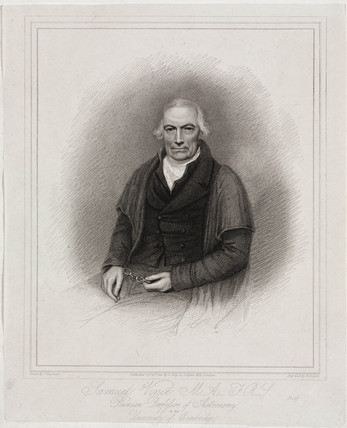 Samuel Vince, English mathematician and astronomer, 1821.