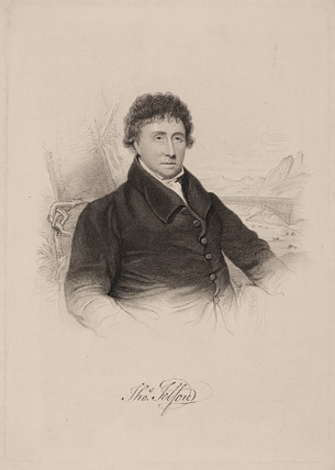 Thomas Telford FRS, Scottish civil engineer, c 1805.