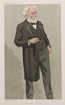 Samuel Wilks, English philosophical pathologist, 1892.