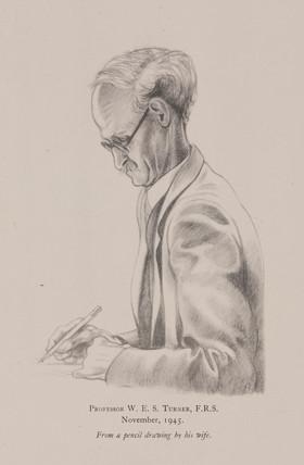 'Profesor W E S Turner, November, 1945.'