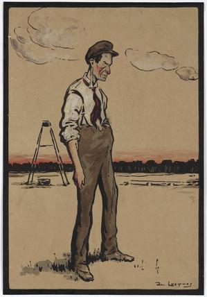 Wilbur Wright, American aviator, c 1910.