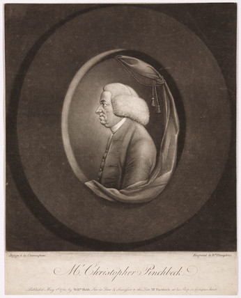 Christopher Pinchbeck, English clockmaker and toymaker, c 1730.