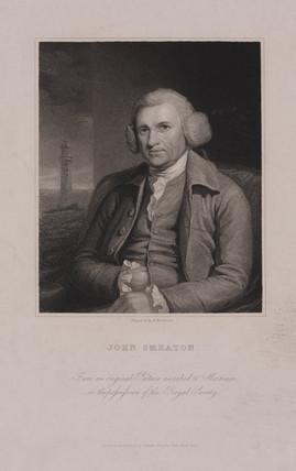 John Smeaton, English mechanical and civil engineer, c 1770s.