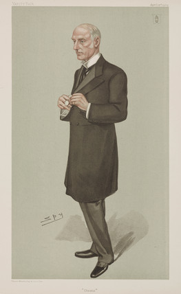 Sir Richard Douglas Powell, British physician, 1904.