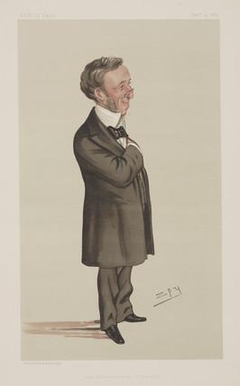 Richard Quain, Irish surgeon, 1883.