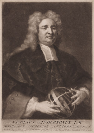 Nicholas Saunderson, English mathematician, 1719.