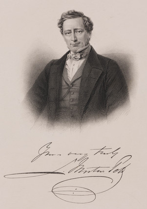 Sir Samuel Morton Peto, English contractor and politician, c 1850s.