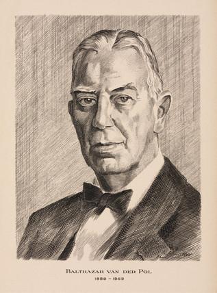 Balthazar van der Pol, Dutch electrical engineer, c 1930s.