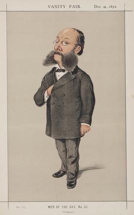 Baron Paul Julius Reuter, German-born British news agency founder, 1872.