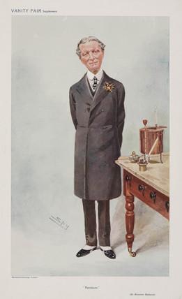 Sir Boverton Redwood, Welsh chemist, 1908.