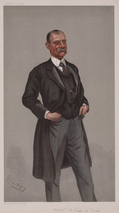 Frederick Treves, English surgeon, 1900.
