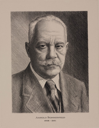 Arnold Sommerfeld, German physicist, c 1930.