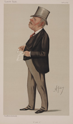 Thomas Sutherland, British shipping magnate, 1887.
