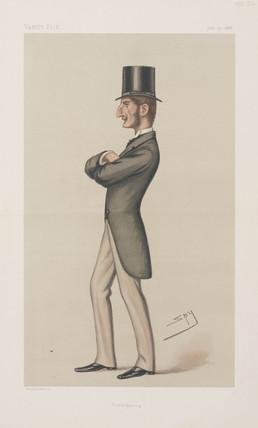 Lord Claud John Hamilton, politician, 1878.