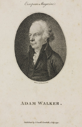 Adam Walker, scientist and lecturer, 1792.