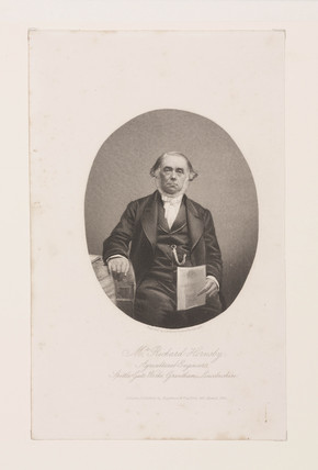Richard Hornsby, agricultural engineer, 1858.