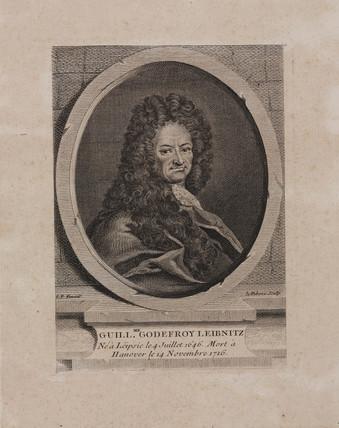 Gottfried Leibniz, German mathematician and philosopher, c 1700.
