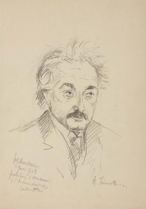 Albert Einstein, German mathematical physicist, 1929.