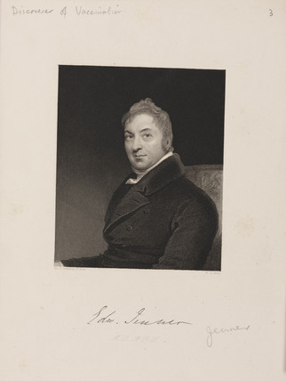 Edward Jenner, British physician, c 1809.