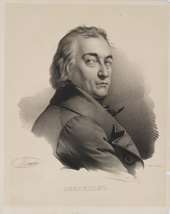 Claude-Louis Berthollet, French chemist, c 1800.