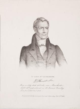 William Huskison, British politician, c 1820s.
