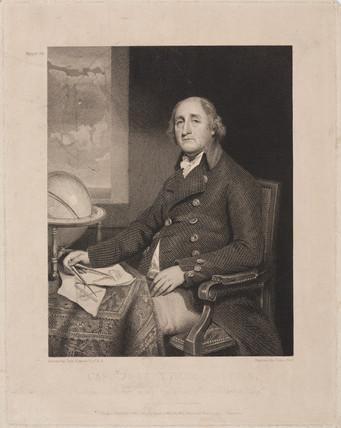 Captain Joseph Huddart, hydrographer, 1801.