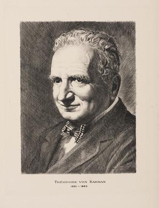 Theodore von Karman, physicist and aeronautical engineer, c 1930-1950.