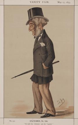 John Laird, British shipbuilder, 1873.