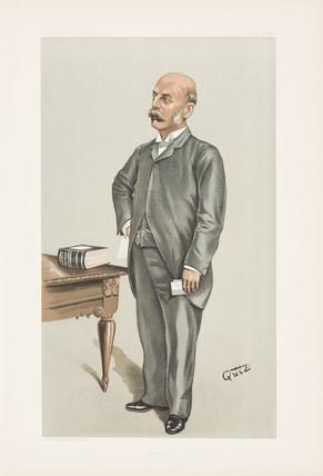 Henry Charles Burdett, hospital  administrator, 1898.