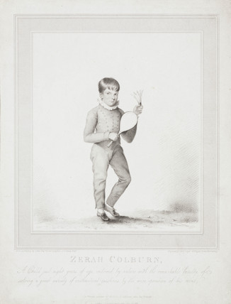 Zerah Colburn, child prodigy, 1813.