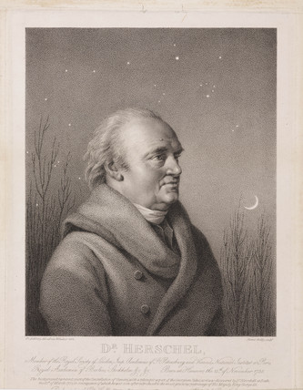 Sir William Herschel, German-British astronomer, 1814.