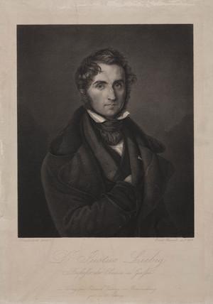 Justus von Liebig, German chemist, 1843.