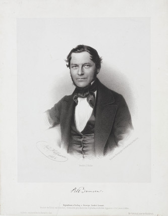 Robert Bunsen, German Chemist, 1856.