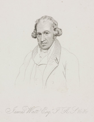 James Watt, Scottish engineer, c 1801.