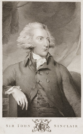 Sir John Sinclair, Scottish agricultural economist and statistician, c 1790s.
