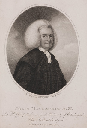 Colin MacLaurin, Scottish mathematician and physicist, c 1740s.