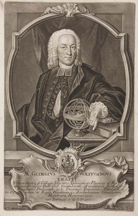 Georg Wolfgang Krafft, German mathematician, 18th century.