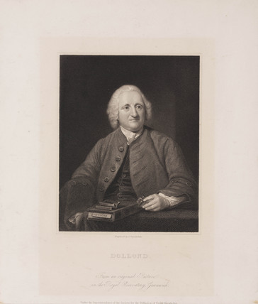 John Dollond, optician, c 1750s.