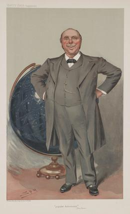 Sir Robert Stawell Ball, mathematician and astronomer, c 1890.