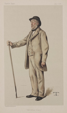 John Bennet Lawes, scientific agriculturalist, 1882.