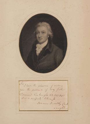 Edmund Cartwright, British textiles pioneer, late 18th-early 19th centuries.